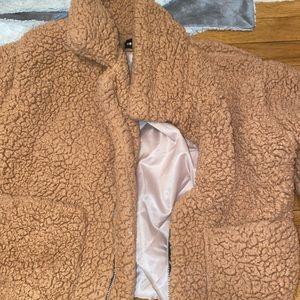 sherpa jacket!!